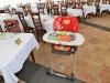 Обеденный зал, детский стульчик